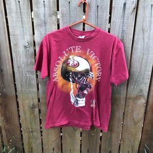 Vintage 90s NFL SF 49ers Men's Shirt